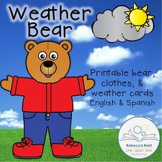 Weather Bear freebie