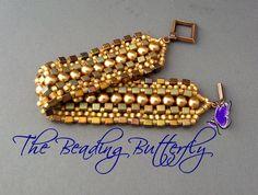 Mosaic Bracelet by ~beadg1rl on deviantART