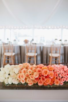Awesome Ombre Wedding Flowers!