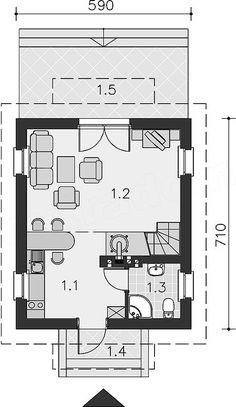 Home Design Plans, Floor Plans, House Design, How To Plan, Houses, Architecture Design, House Plans, Home Design, House Design Plans