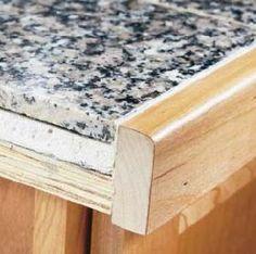 How to Install Granite Tile Kitchen Countertops - Info Center ...
