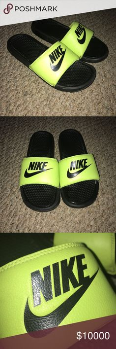 NIKE SLIDES MAKE OFFERS Make offers I'll take low prices Nike Shoes