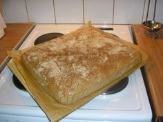 Helppo peltileipä Savory Pastry, Savoury Baking, Bread Baking, No Salt Recipes, Gourmet Recipes, Baking Recipes, Meatless Recipes, Good Food, Yummy Food