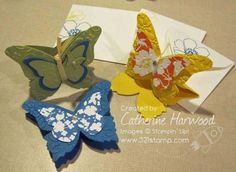 A Box of Butterfly Cards - and the lovely Butchart Gardens