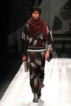 I'd love to see Mark, Jiro, or Kentaro dressed like this. Yum... Contemporary Kimono Couture - The Jotaro Saito Fall/Winter 2013 Collection is Orient Infused (GALLERY)