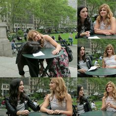 Elise Bauman and Natasha Negovanlis