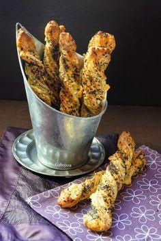"""""""Anya, ez isteni!..."""", avagy Gabojsza konyhája: Magvas-sajtos csavart rúd leveles tésztából"""