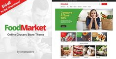 Food Market - Food Shop & Grocery Store WordPress Theme by cmsmasters Food Market ¨C Food Shop & Grocery Store WordPress ThemeFood Market is a dedicated theme for food shops and large grocery stores,