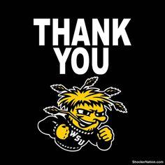 Wichita State - Thank You!