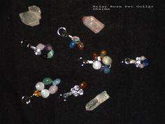 I create custom made Gemstone Pet Collar Charms using the metaphysical properties of crystals and gemstones...more about my work may be found at www.briarrosereiki.com