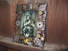 Exclusive Frame Steampunk Frame Fantasy Frame by LuckySteamPunk, $55.00