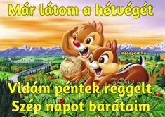 péntek reggel - Megaport Media Good Day, Good Morning, Share Pictures, Animated Gifs, Winnie The Pooh, Humor, Disney Characters, Funny, Watch