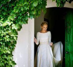 Atelier Wedding: UNA ESPECTACULAR NOVIA DE MANUEL DE VIVAR