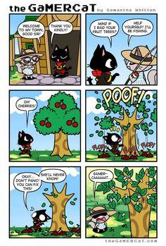 the GaMERCaT :: Cherry-Picked | Tapastic Comics - image 1