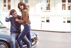 Cole Mohr joins Antonina Petkovic for Koton Jeans' spring-summer 2016 campaign.
