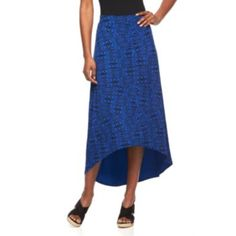 Petite+Apt.+9+High-Low+Hem+Maxi+Skirt