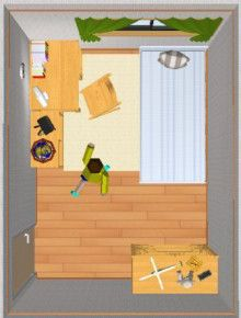 sucreのインテリアのコツ!-6畳① Space Saving, Family Guy, Organization, Room, Baby, Character, Tiny House, Home Decor, Getting Organized