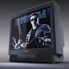 Old TV Sony Trinitron Model available on Turbo Squid, the world's leading provider of digital models for visualization, films, television, and games. 3d Television, 3d Tvs, Sony Tv, Tv Sets, Animation Background, Retro Futurism, Old Things, Japan, Technology
