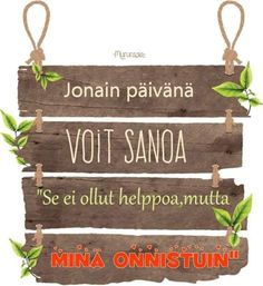 Finnish Words, Addiction Recovery, Motivational Words, Word Of The Day, Pretty Words, You Can Do, Poems, Mindfulness, Thoughts