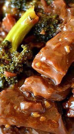 Crockpot Beef and Broccoli ❊