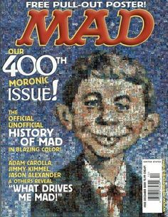 Cover for MAD (EC 1952 serie) #400 - DECEMBER 2000