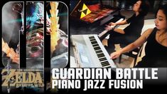 Guardian Battle Piano Cover Jazz Fusion Quartetガーディアン戦 Zelda Breath of t...