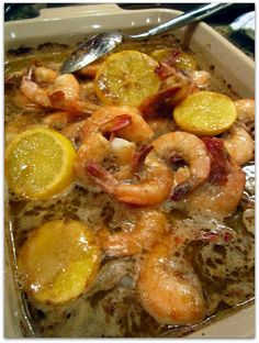 New Orleans Barbecue Shrimp: I love this stuff! Craving it now!