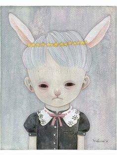 Y - Hikari Shimoda Art And Illustration, Dark Art Illustrations, What Is Contemporary Art, Japanese Art Modern, Arte Lowbrow, Art In The Age, Arte Horror, Creepy Cute, Community Art