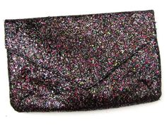 h&m glitter envelope clutch party handbag black and pink medium | Clothing, Shoes & Accessories, Women's Handbags & Bags, Handbags & Purses | eBay!