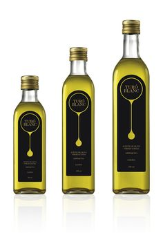 Tur� Blanc Olive Oil Packaging (via #spinpicks)