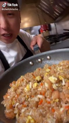 Seasoned Rice Recipes, Easy Rice Recipes, Fried Rice Recipes, Asian Recipes, Mexican Food Recipes, Fried Rice Dishes, Sushi Roll Recipes, Healthy Recipes, Shrimp Fry Rice Recipe