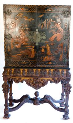 Chinoiserie Cabinet                                                                                                                                                                                 Más