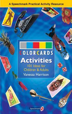 ColorCards Activities: In dit boek vind je allerlei activiteiten en spelletjes die je met de fotokaarten kan uitvoeren.