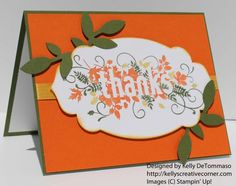 "Seasonally Scattered Stamp set from the upcoming Stampin' Up! Holiday Catalog. I added ""Kelly DeTommaso"" to an #inlinkz linkup!http://kellyscreativecorner.com/2014/07/28/sneak-peek-for-the-pals-paper-arts-sketch-challenge/"