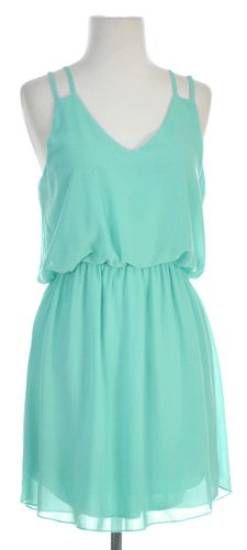 Sunshine on My Shoulders Dress in #mint