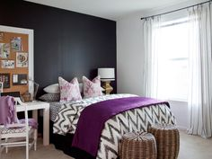 15 Black-and-White Bedrooms | Bedroom Decorating Ideas for Master, Kids, Guest, Nursery | HGTV
