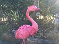Bright Pink Fun Metal Flamingo Garden/Pond Ornament 90cm, http://www.amazon.co.uk/dp/B018UKDEAO/ref=cm_sw_r_pi_awdl_UmVsxb6KAPBSC
