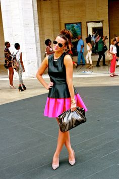 "looks like a double peplum. i love her style! going through her whole blog. i love her on the show ""most eligible dallas."" now she has her own show."