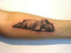 French bulldog tattoo Pinterest// @badgalronnie
