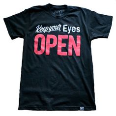 OPEN Tee, $21 by Random Objects
