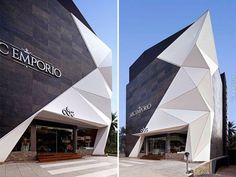 Provocative Modern Architecture Approach for Bathroom Showroom in India - Architecture Commercial - [post_tags Angular Architecture, Post Modern Architecture, Plans Architecture, India Architecture, Commercial Architecture, Architecture Design, Architect Logo, Architect House, Famous Architects