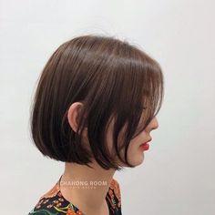 Pin on 헤어 Pin on 헤어 Asian Short Hair, Girl Short Hair, Short Hair Cuts, Asian Bob Haircut, Classic Bob Haircut, Medium Hair Styles, Curly Hair Styles, Middle Hair, Mid Length Hair