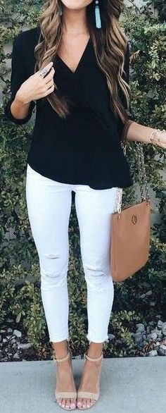 Fall Outfits ideas for Winter fashion 2019 my love fall fashion women's clothing jeans + tops how to wear jeans outfits going fashion eve dress outfits Work Fashion, Cute Fashion, Fashion Outfits, Womens Fashion, Fashion Trends, Fashion Ideas, Spring Summer Fashion, Spring Outfits, Winter Fashion