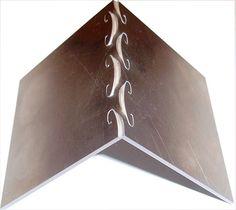 Industrial Origami, 90deg bend Aluminium 7075-T6. Impressive.