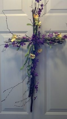 """Message Boards - """"Need Easter Door Decor Ideas with a Religious Theme- edited with what I did"""" - NSBR Board - Two Peas In A Bucket"""