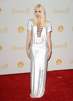 15 Most Glamorous Gowns at the Emmys 2014 Gwen Stefani in Versace