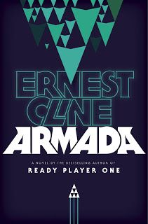 Cover Unveiled for Armada by Ernest Cline ~ Mad Hatter's Bookshelf & Book Review - Armada will be released in July, 2014 from Crown.