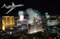 """2013 New Year celebration on """"The Strip"""" in Las Vegas, NV. One of the Best Places in the World to """"Ring in the New Year""""."""