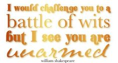 #Quote from Shakespeare