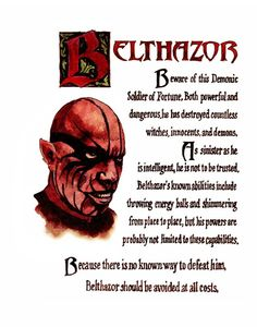 Charmed Series Book of Shadows: Belthazor Wiccan Spell Book, Witch Spell, Spell Books, Charmed Spells, Charmed Book Of Shadows, Magick Spells, Witchcraft, Supernatural Creatures List, Witch Coloring Pages